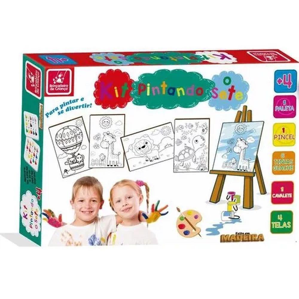 Kit Pintura Pintando o Sete - Brincadeira de Criança
