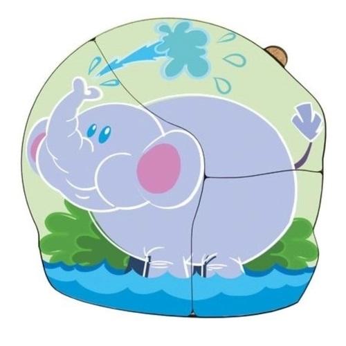 Quebra - Cabeça Vertical Baby - Elefantinho - Simque