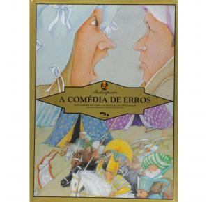 A Comedia De Erros (Shakespeare) - Dimensão Editora - Livro