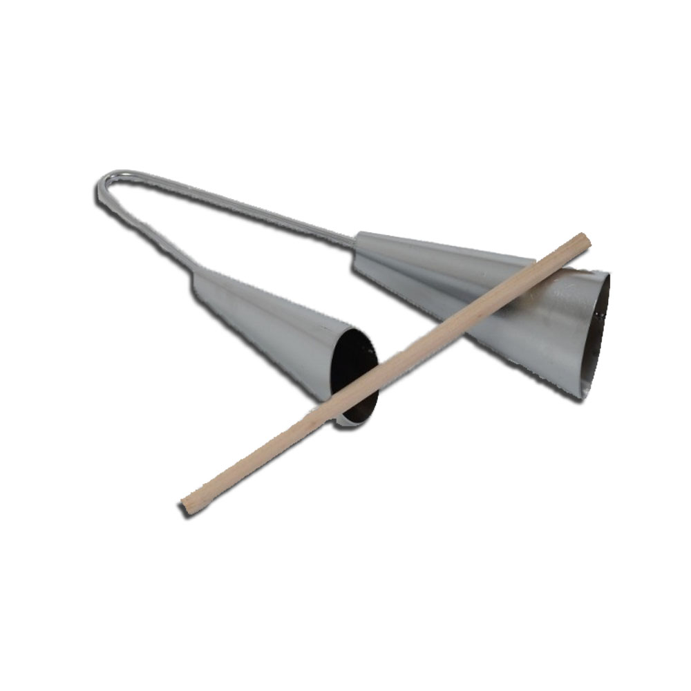 Agogo Metal - Vibratom - Instrumento Musical