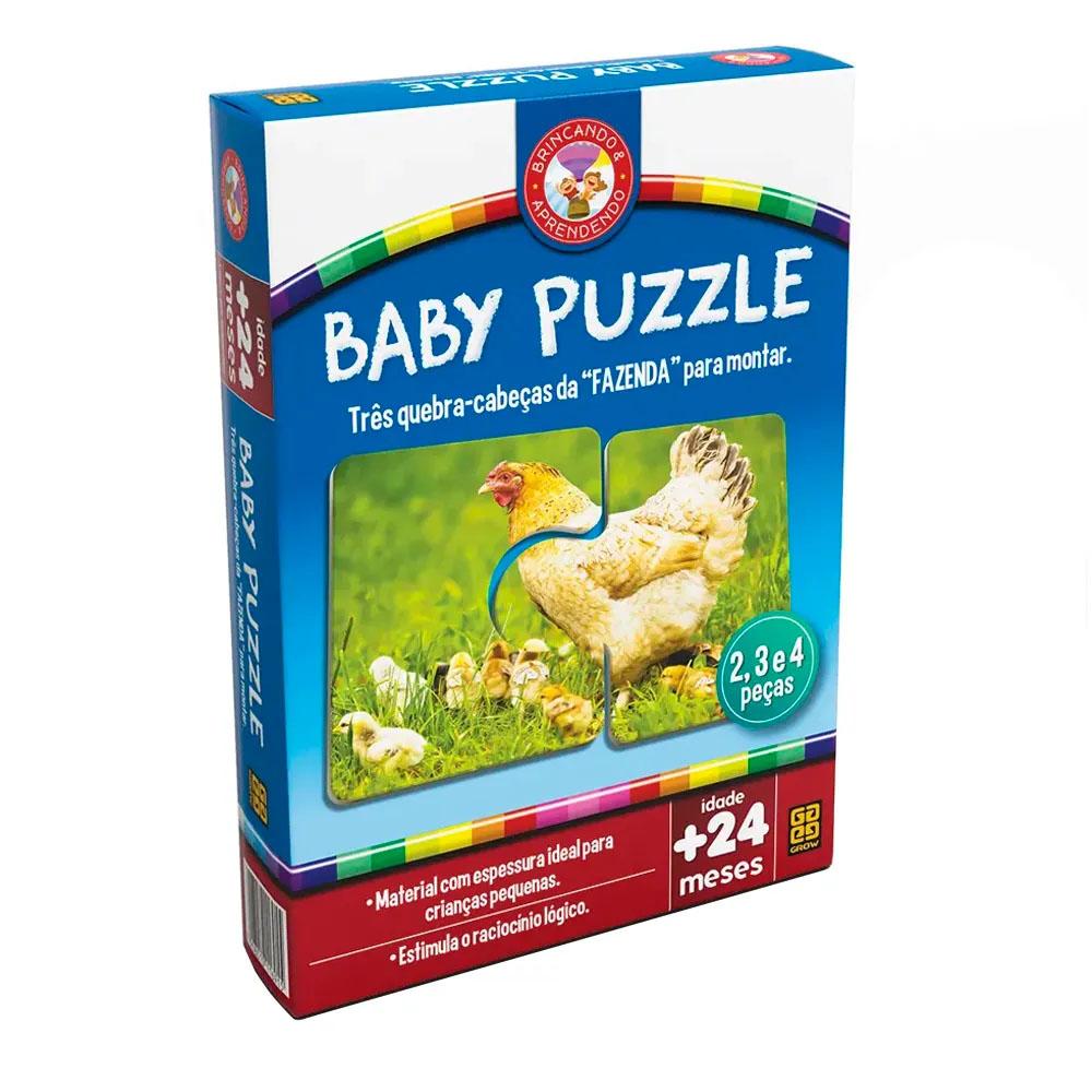 Baby Puzzle - Grow - Quebra Cabeça