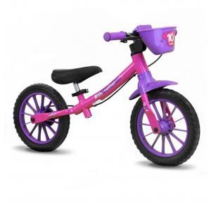 Bicicleta Balance Bike - Nathor - aro 12