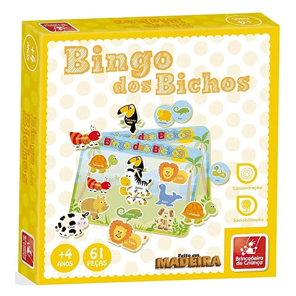 Bingo Dos Bichos - Brincadeira De Criança