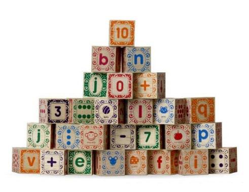 Blocos ABC Ilustrado - Alfabeto - Ulla