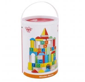 Blocos Alfabéticos 80 Peças - Tooky Toy