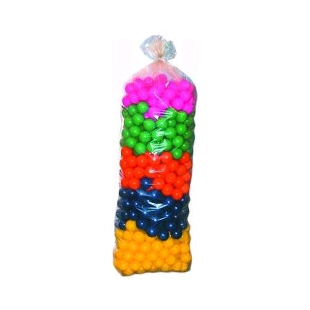 Bolinhas para Piscina 76mm - 500 unidades - Central dos Brinquedos