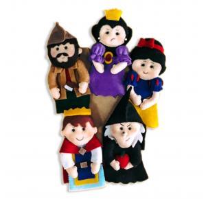 Branca de Neve - Dedoche - Grillo Brinquedos