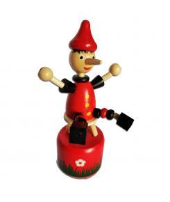 Brinquedo Articulado Pinóquio - Artyara - Madeira