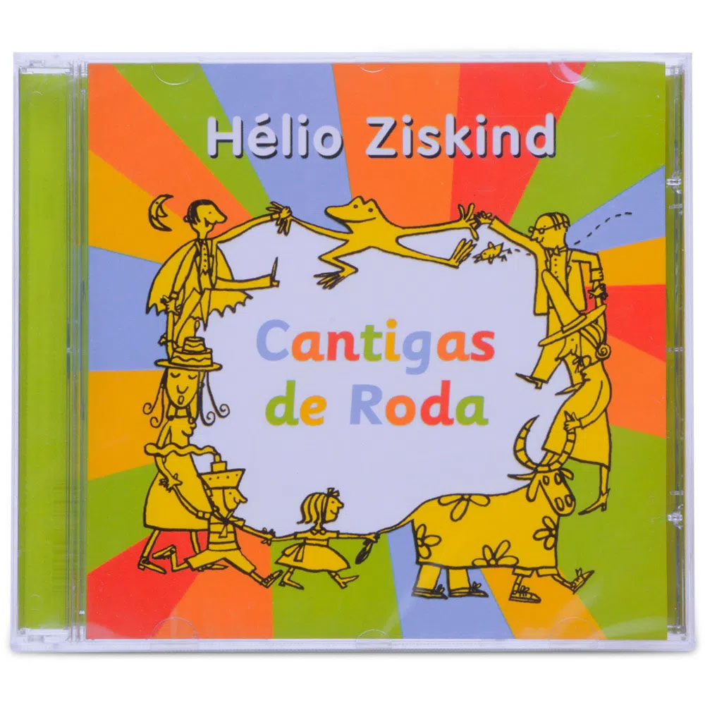 CD - Cantigas De Roda - Helio Ziskind