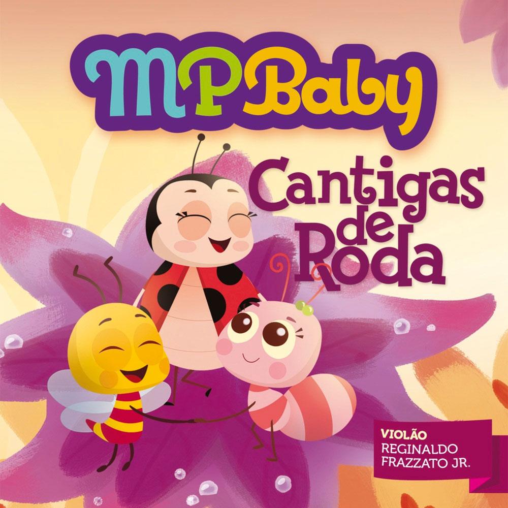 CD - MPBaby - Cantigas de Roda
