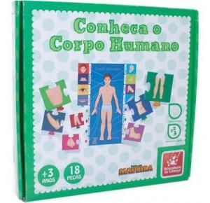 Conheça o Corpo Humano - Brincadeira de Criança