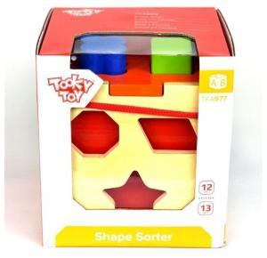 Cubo Educativo para Encaixe - Tooky Toy - Motricidade