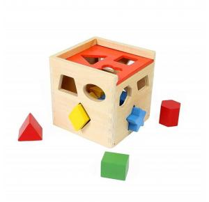 Cubo Educativo para Encaixe - Tooky Toy