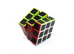 Cubo Mágico 3x3x3 Preto Carbono - Fanxin