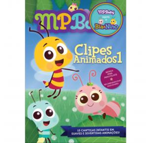 DVD - Clipes Animados 1 - MPBaby
