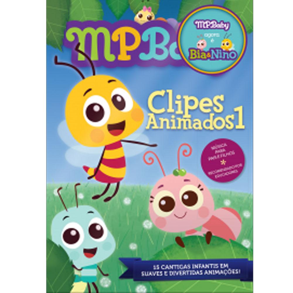 DVD - Clipes Animados 1 - MPBaby