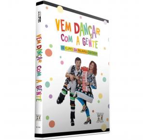 DVD - Vem Dançar Com a Gente - Palavra Cantada