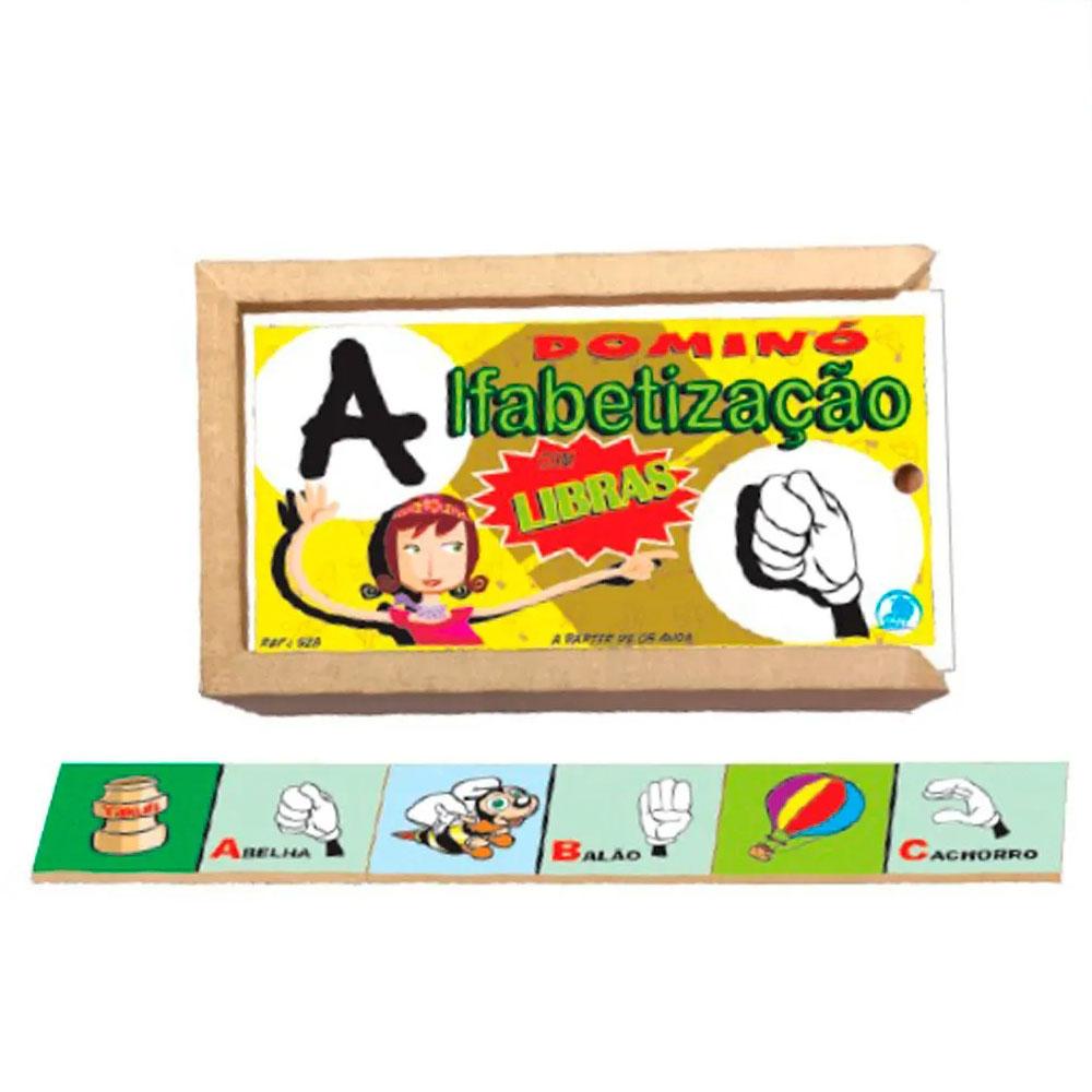 Dominó Alfabetização Com Libras - Simque