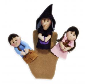João e Maria - Dedoche - Grillo Brinquedos