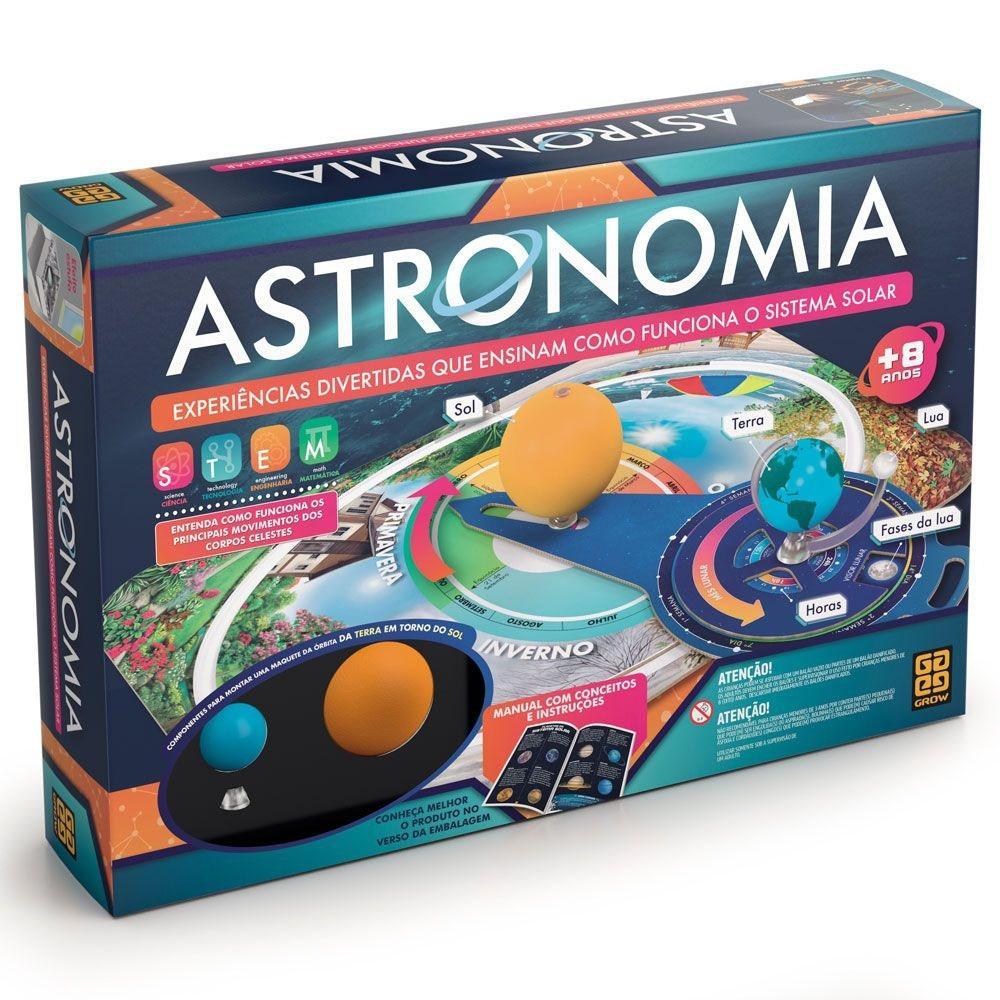 Jogo Astronomia - Conjunto de Experiências - Grow