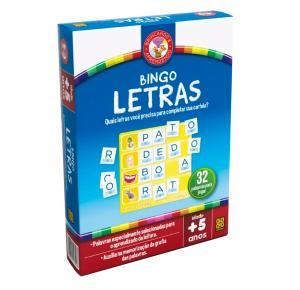 Jogo Bingo Letras - Alfabeto Português - Grow