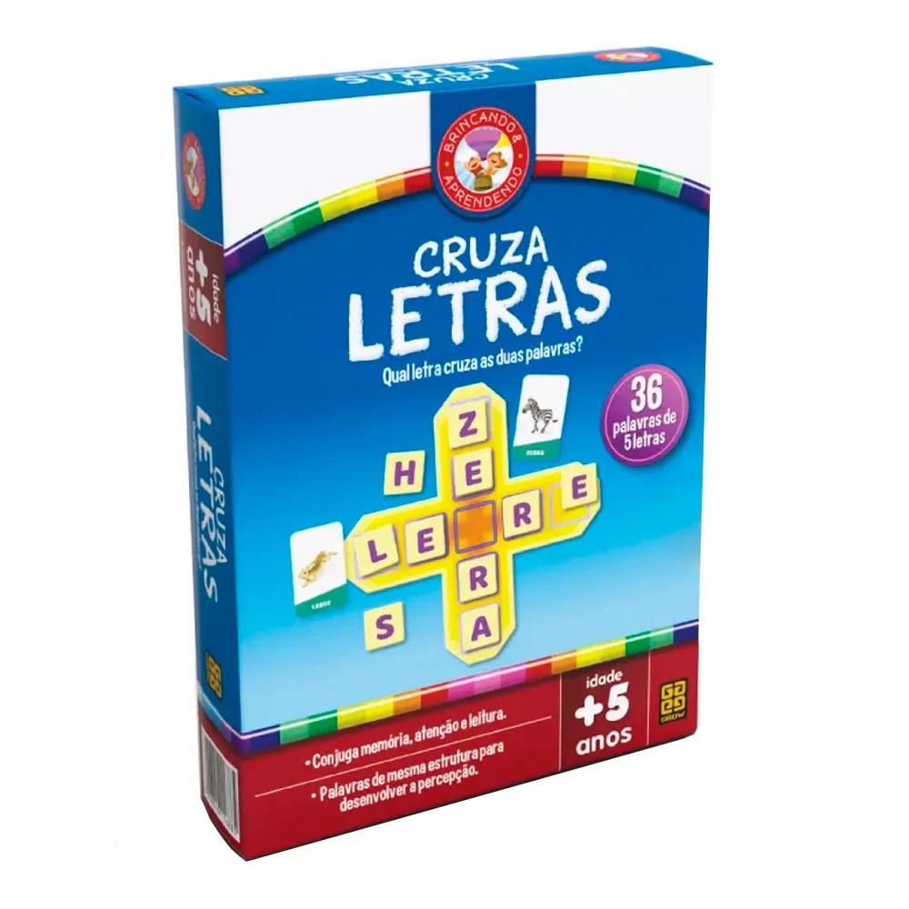 Jogo Cruza-Letras - Grow - Alfabeto