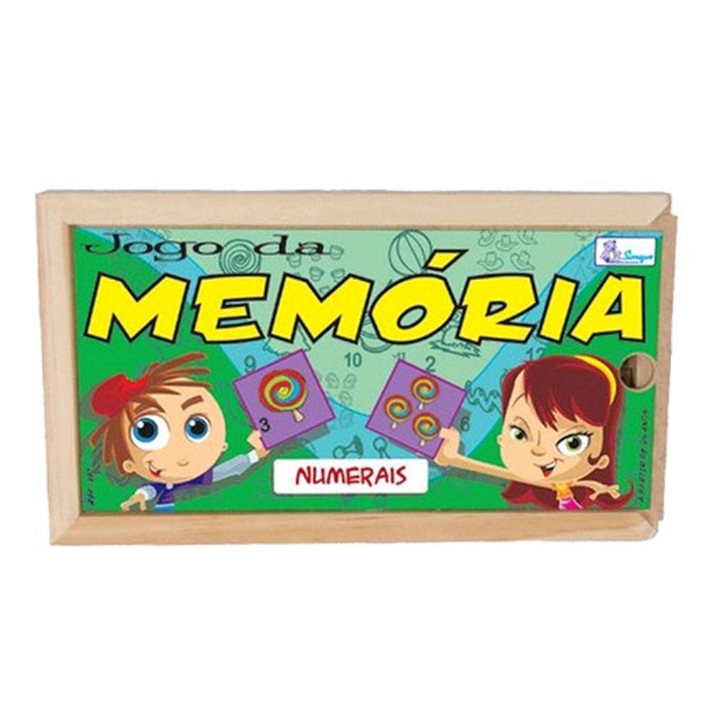 Jogo Da Memória Numerais - Simque