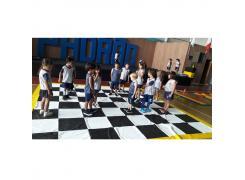 Jogo De Xadrez Gigante - LDM Brinquedos