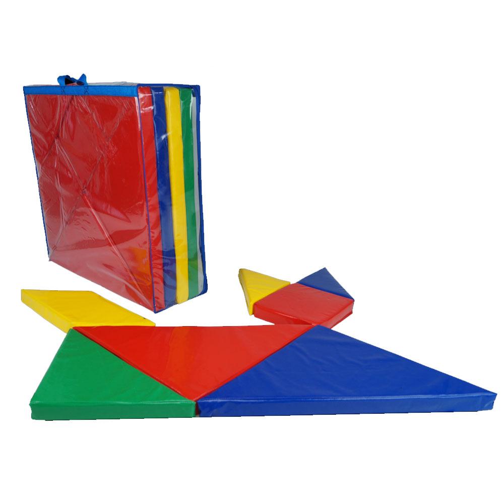 Jogo Do Tangran Gigante - LDM Brinquedos