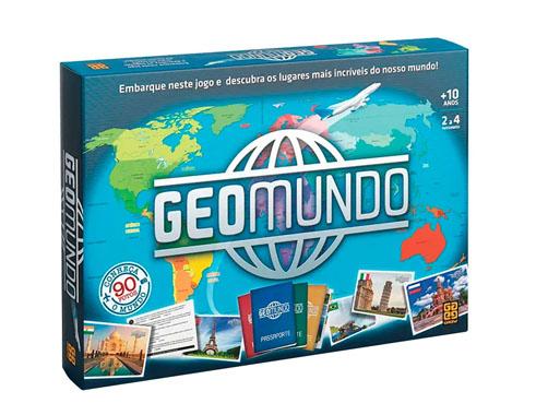 Jogo Geomundo - Grow - Geografia