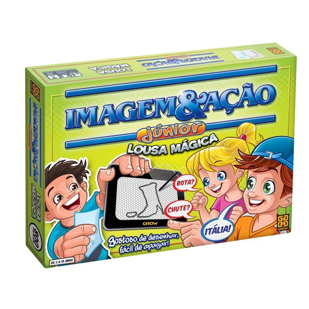 Jogo Imagem & Ação Júnior Lousa Mágica - Grow- Desafio