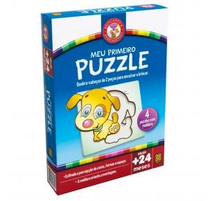 Jogo Meu Primeiro Puzzle - Grow - Quebra Cabeça