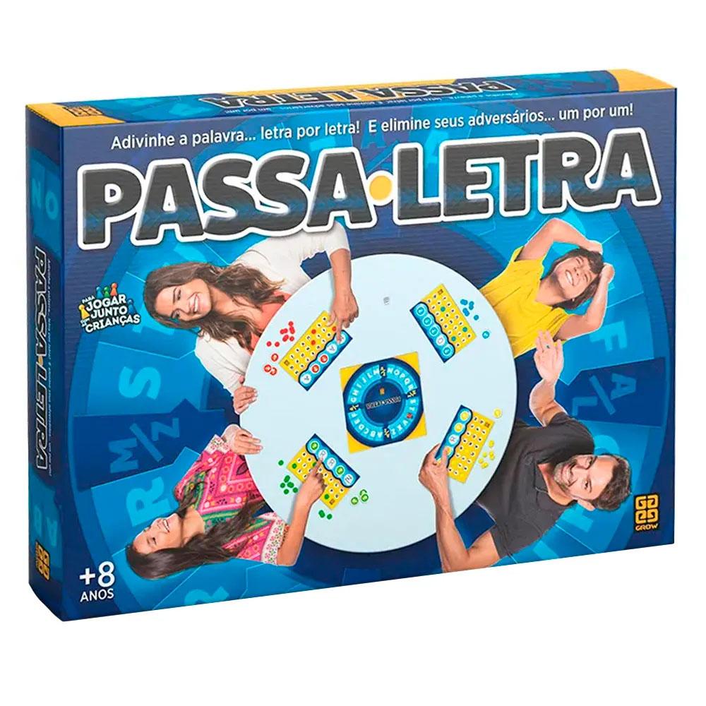 Jogo Passa Letra - Grow