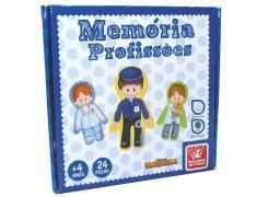Jogo da Memória Profissões - Brincadeira de Criança