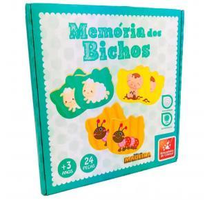 Jogo da Memória dos Bichos - Brincadeira de Criança