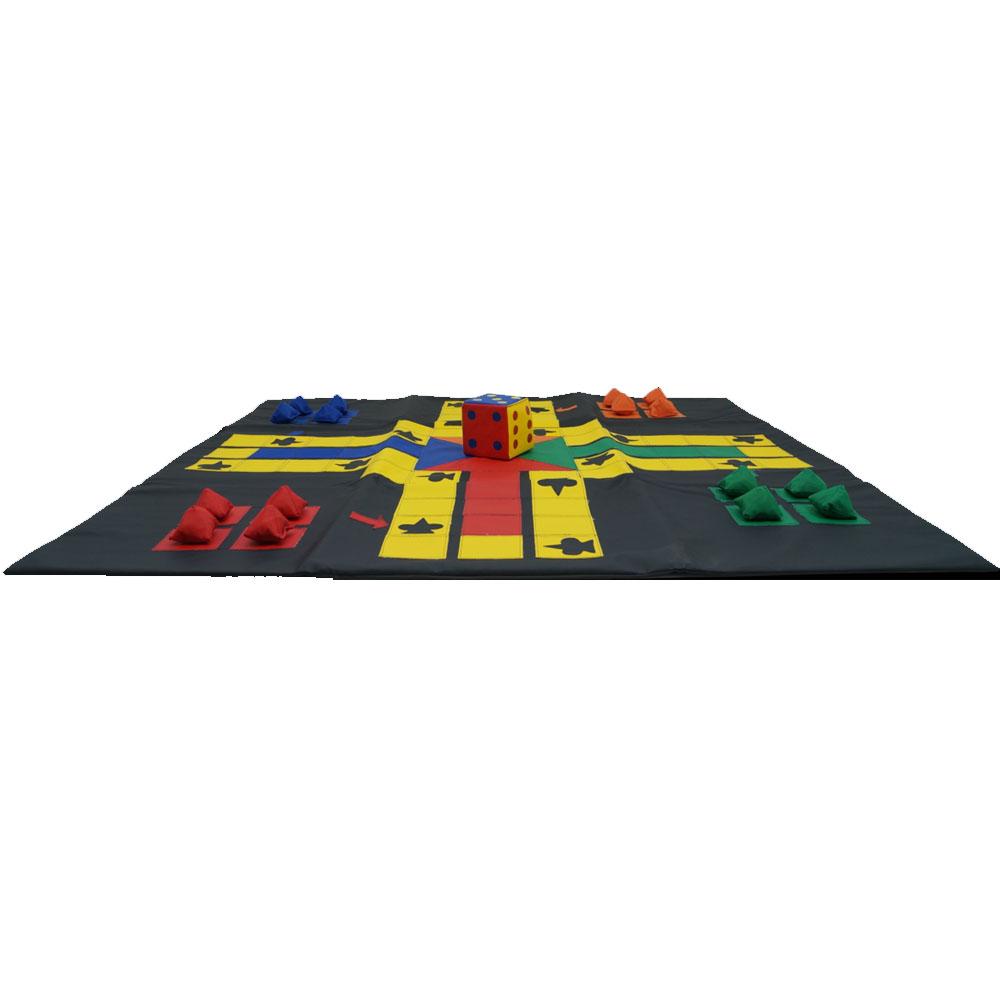 Jogo de Ludo Gigante - LDM Brinquedos