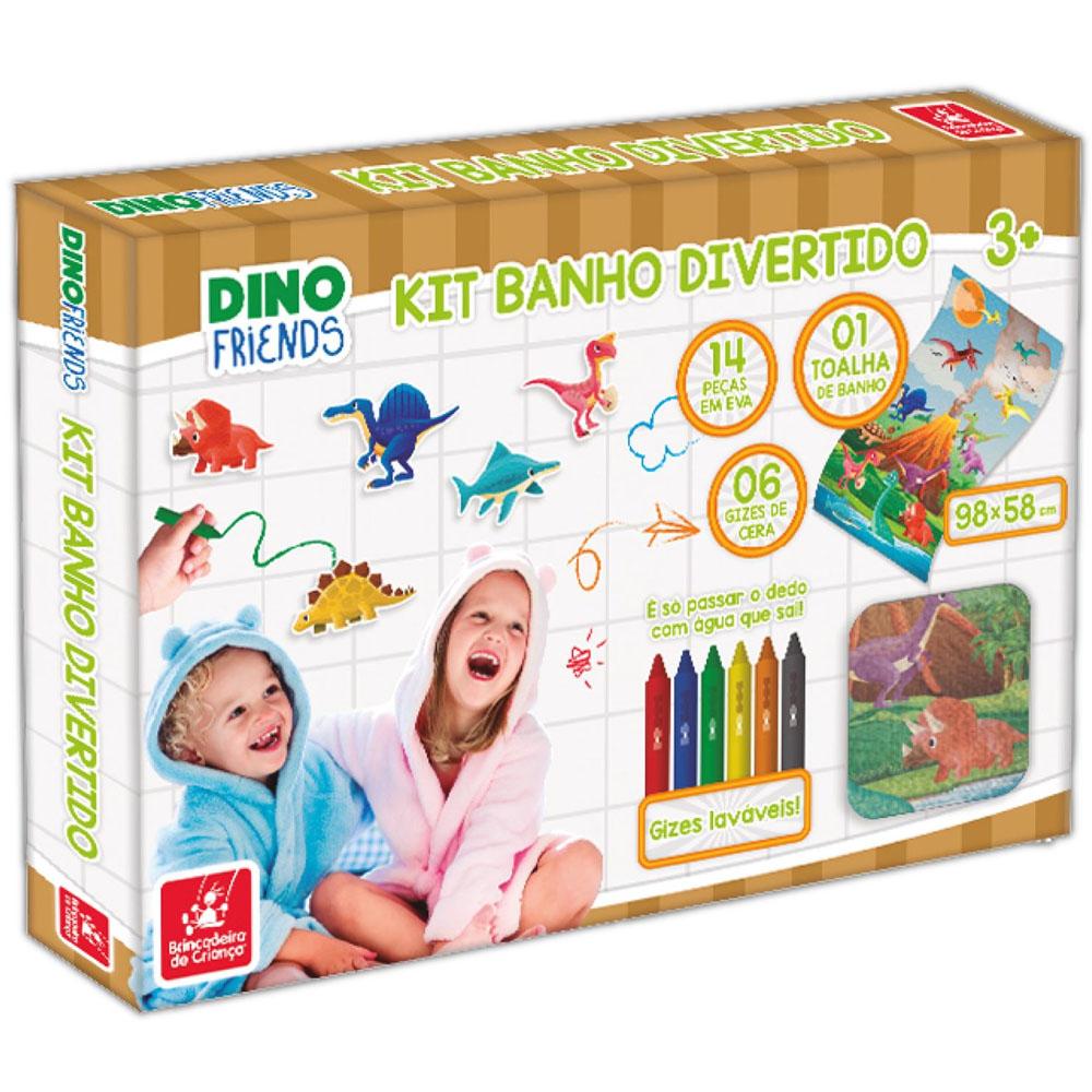 Kit Banho Divertido Dino - Brincadeira de Criança