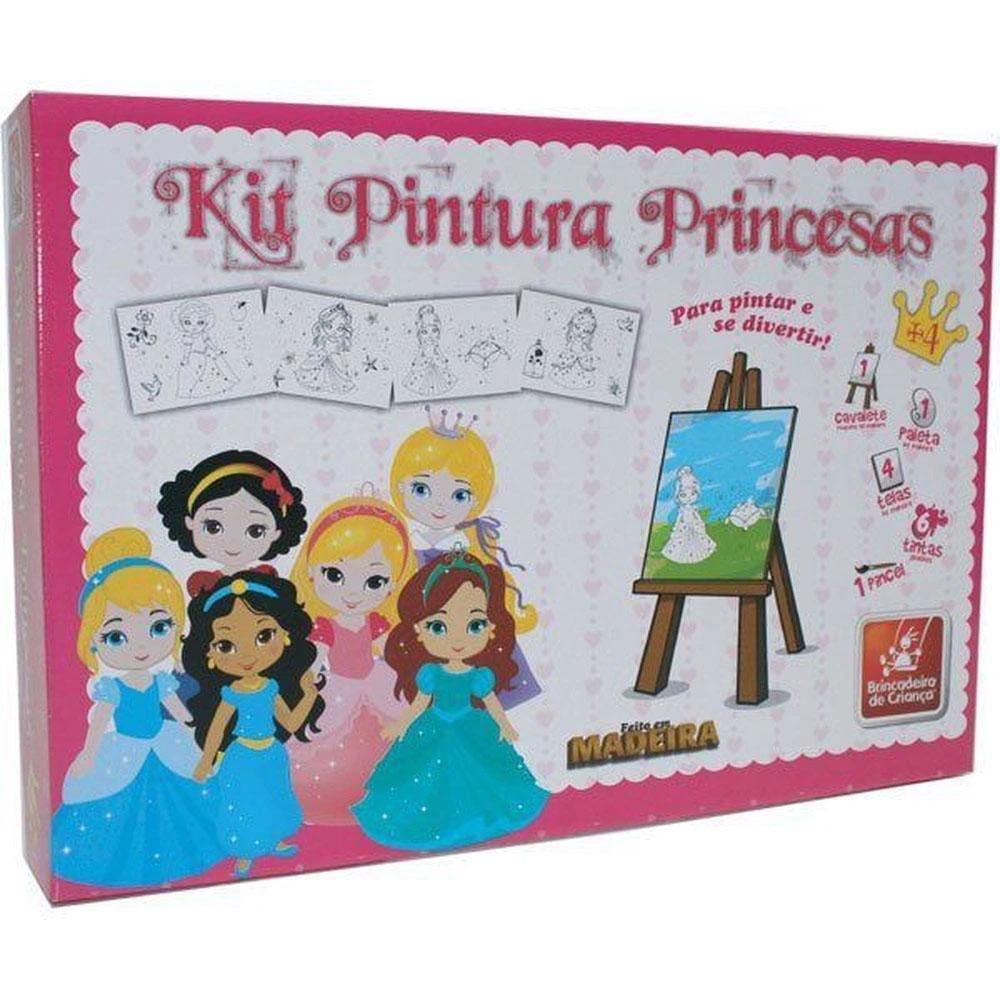 Kit Pintura Princesas Baby - Brincadeira de Criança