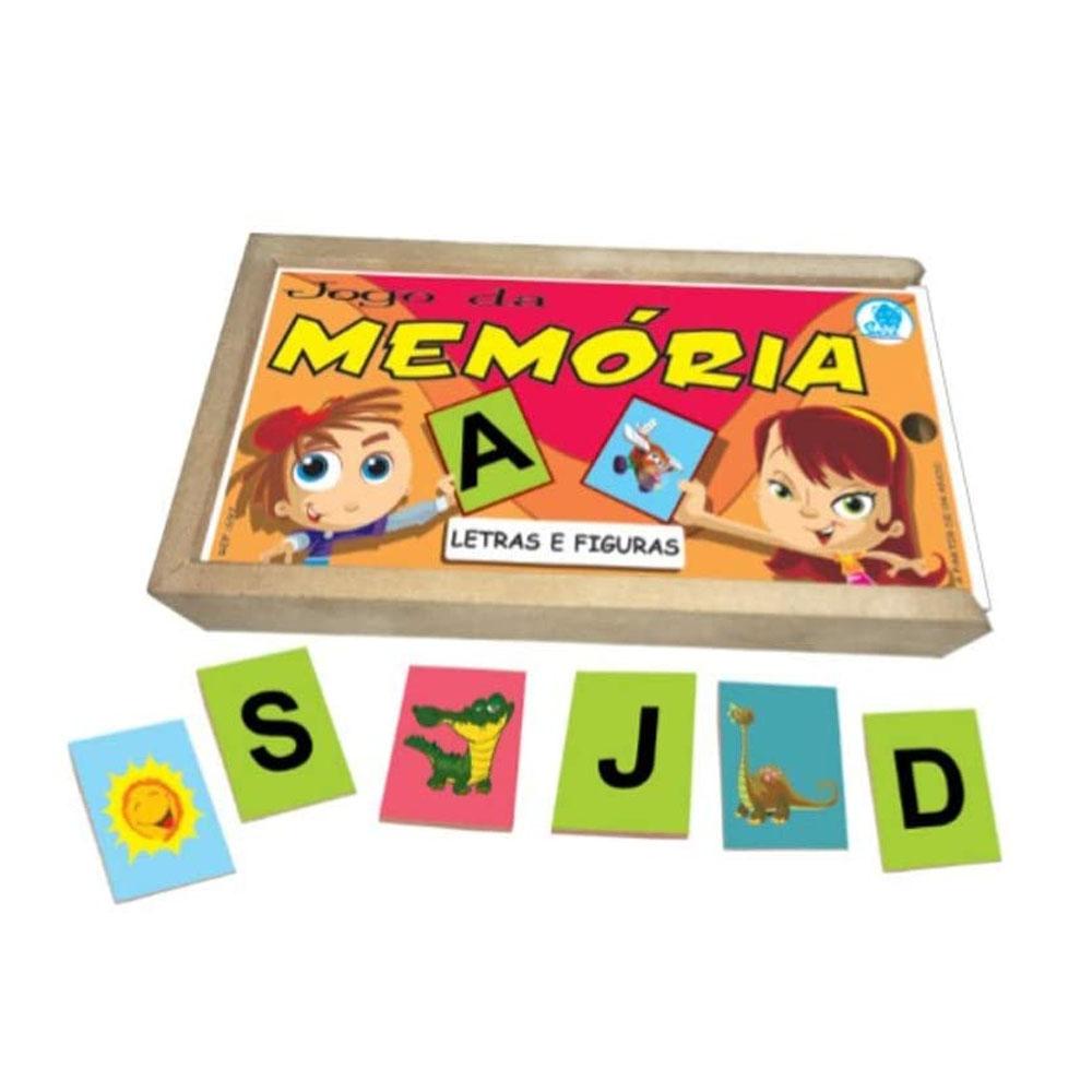 Memória Letras e Figuras - Simque