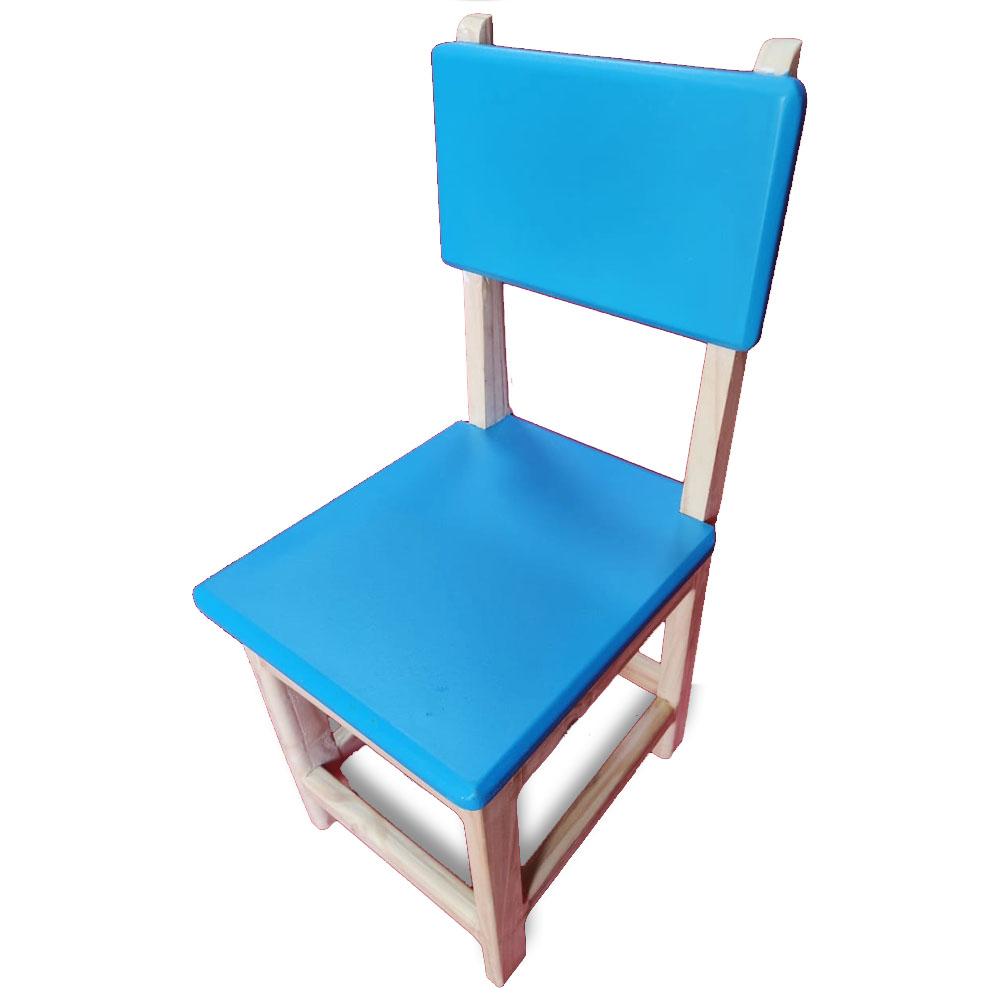 Cadeira de Madeira Infantil - Grillo Brinquedos