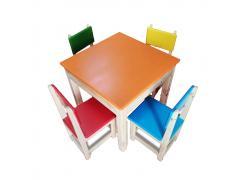 Mesa de Madeira Infantil - Grillo Brinquedos