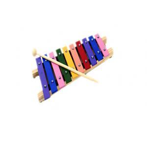 Metalofone Colorido 10 Teclas em Aluminio - Musical - Vibratom