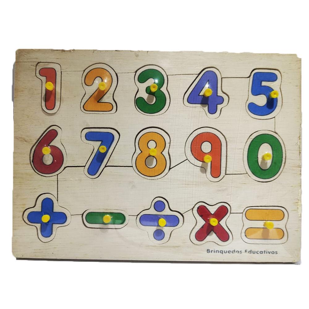 Números com Pinos - Baú do Pirata