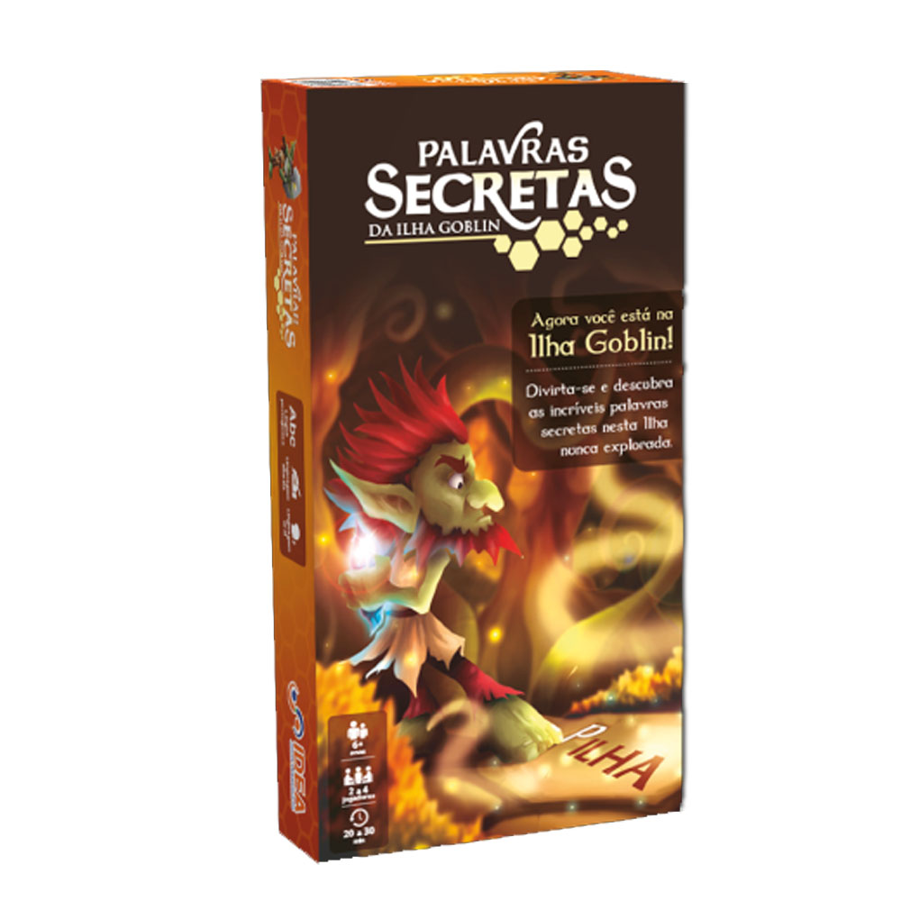 Palavras Secretas Da Ilha Goblin - Idea