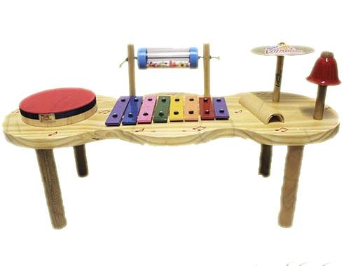 Pequena Percussão Baby Madeira - Vibratom