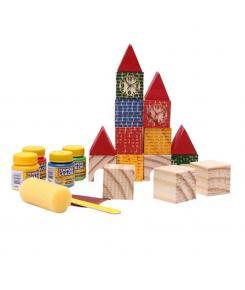 Pequenos Engenheiros - Castelinho de Formas - 40 peças - Artyara