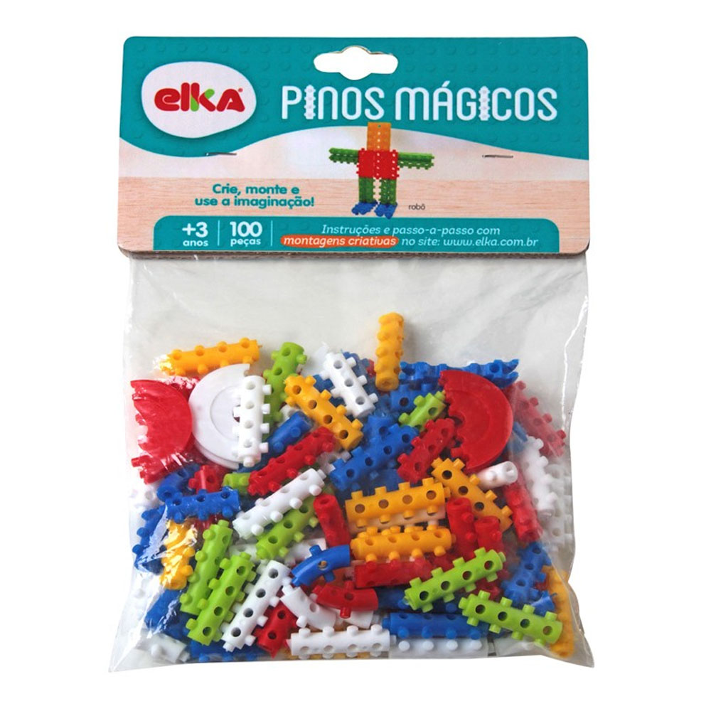 Pinos Mágicos 100 Peças - Elka