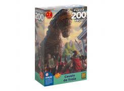 Puzzle 200 peças Cavalo de Troia - Grow - Quebra Cabeça