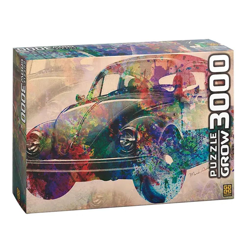 Puzzle 3000 peças Vintage Car - Grow
