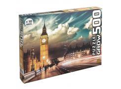 Puzzle 500 peças Londres - Quebra Cabeça - Grow